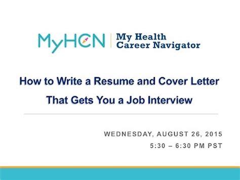 Cover letter example chemistry job